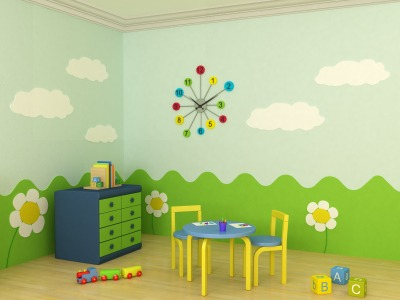 painting childs room
